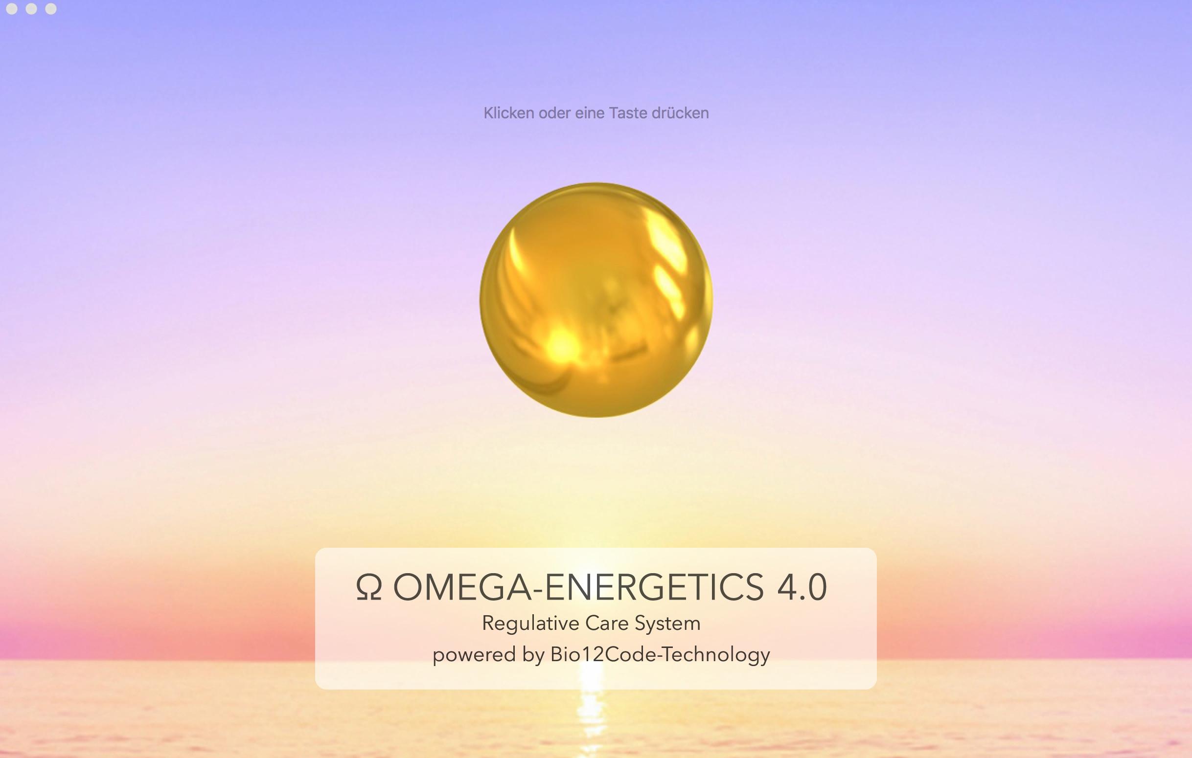 Ω Omega-Energetics 4.0